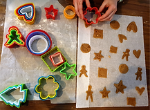 Luosto famille cuisine biscuit aux epice
