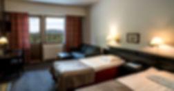 chambre standard hôtel luostotunturi alma mundi