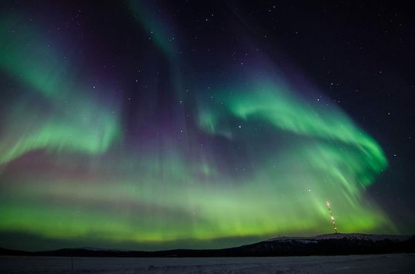 laponie finlandaise mars 2020 aurores boréales christophe André frédéric lenoir club jet tous ylläs saaga