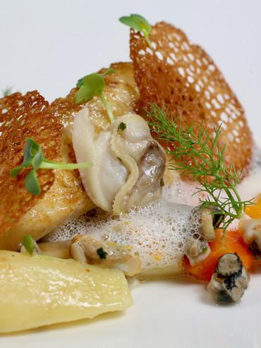 Le Manoir du Lys Assiette champignon