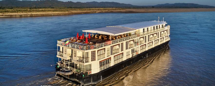 Irrawaddy Explorer vue arriere