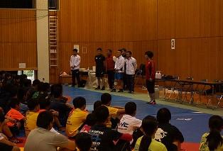 【10/29 レスリング教室が行われました】