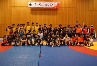 【写真集1】10/29レスリング教室