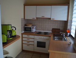 Ein Blick in die Küche