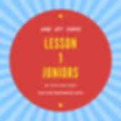 Lesson 1 Juniors