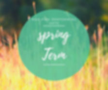 Green Inspirational Spring Quote Faceboo