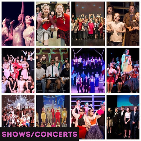 shows musicals bexhill sussex stage-school performing arts theatre-school
