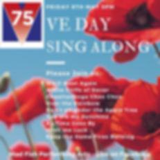 VE Day Sing Along Sussex singlaong singing sussex worldwar2 1941 live facebook
