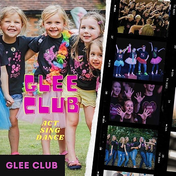 Glee club bexhill sing act dance perform