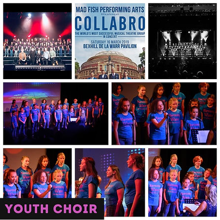 youth choir singing training stage-school theatre-school perform bexhill sussex