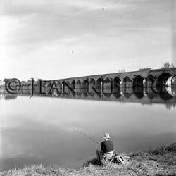 Pêche à la ligne sur la Loire