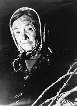 Portrait de vieille paysanne