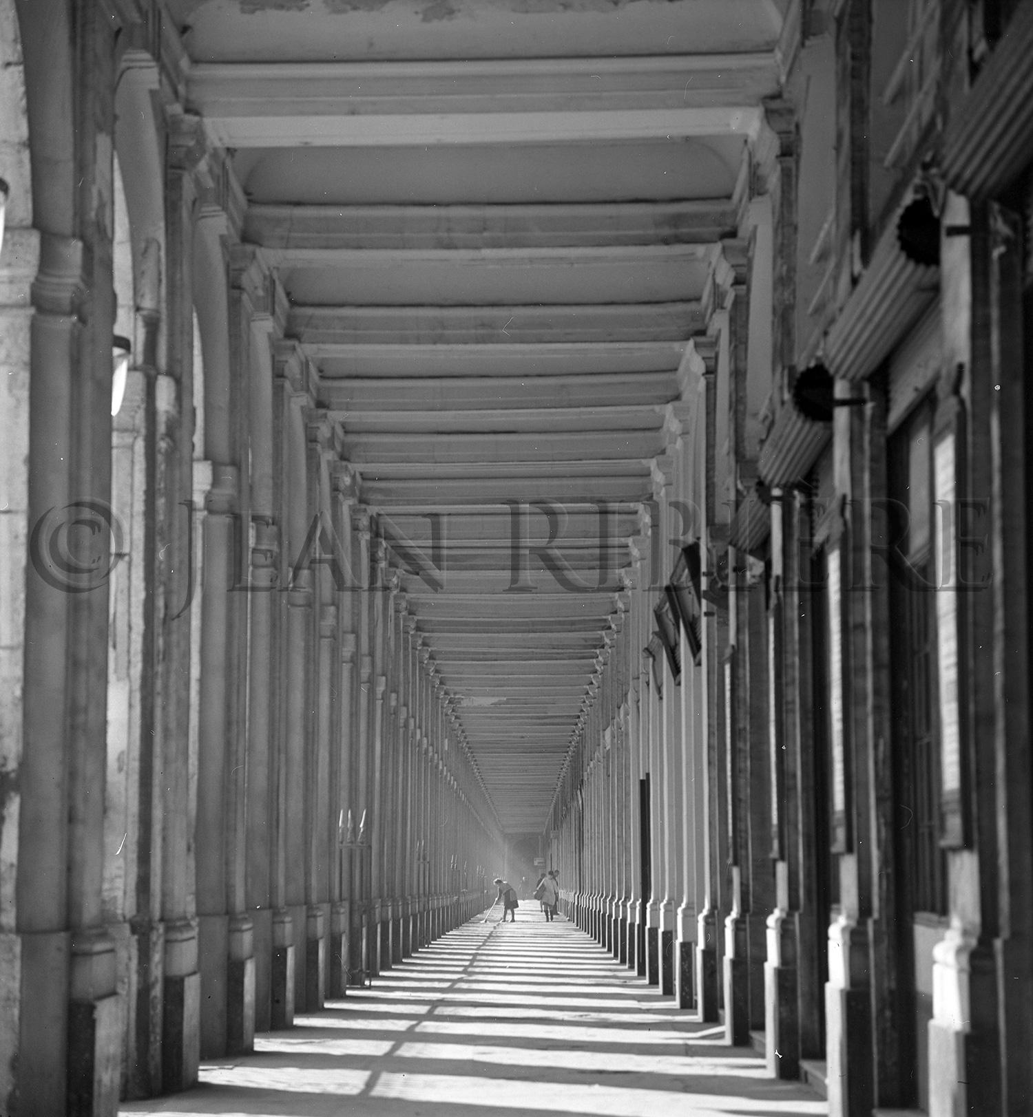 Le Palais Royal : les couverts