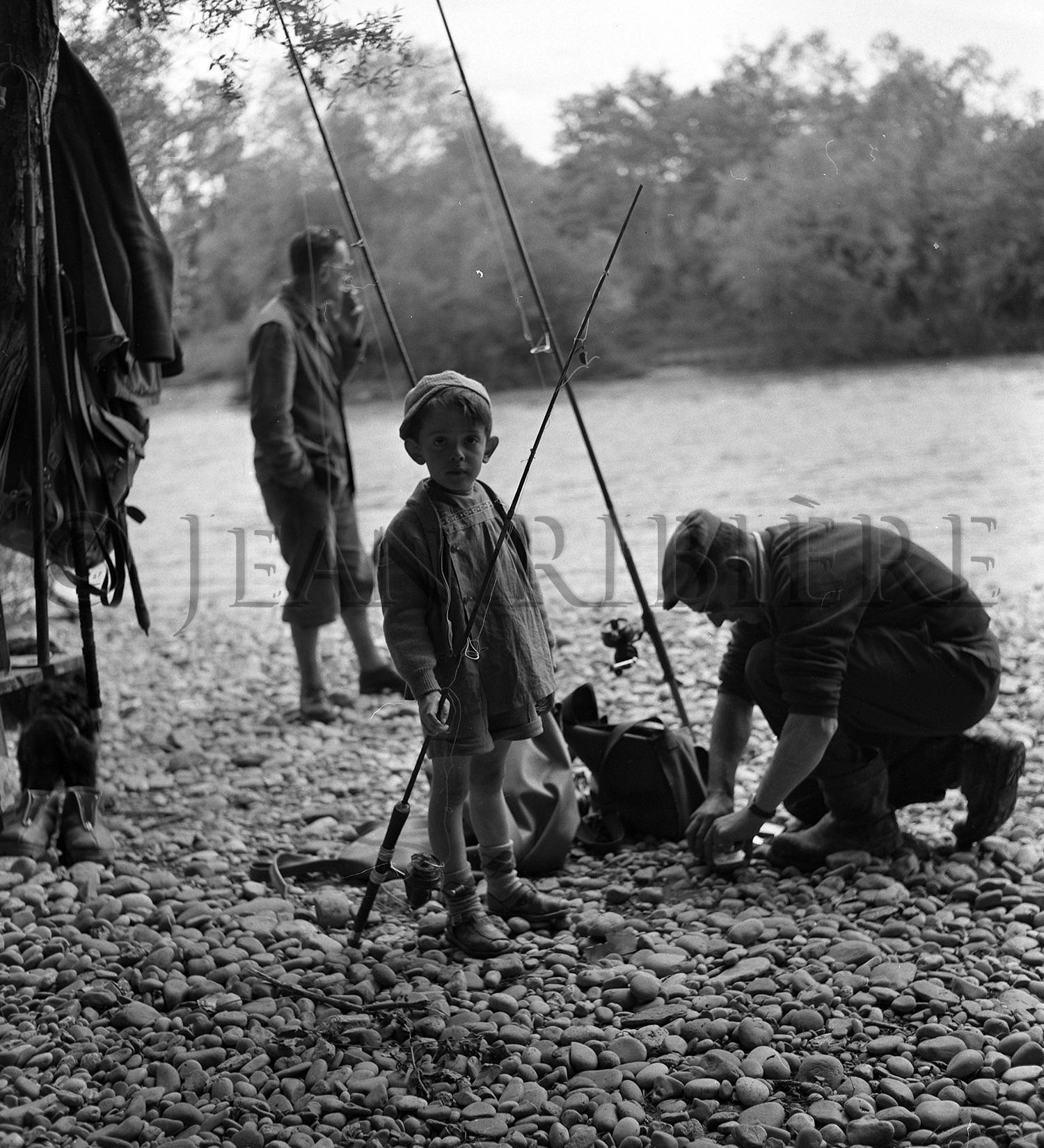 Gave d'Oloron : pêche aux saumons
