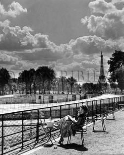 Rêverie dans le Jardin des Tuileries
