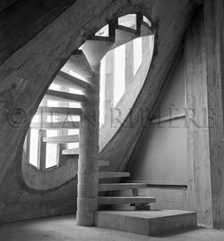 L'escalier ovoïde