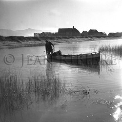 Pêche à l'étang près du village