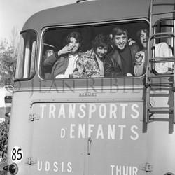 Ramassage scolaire en bus