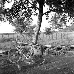 La bicyclette du pêcheur