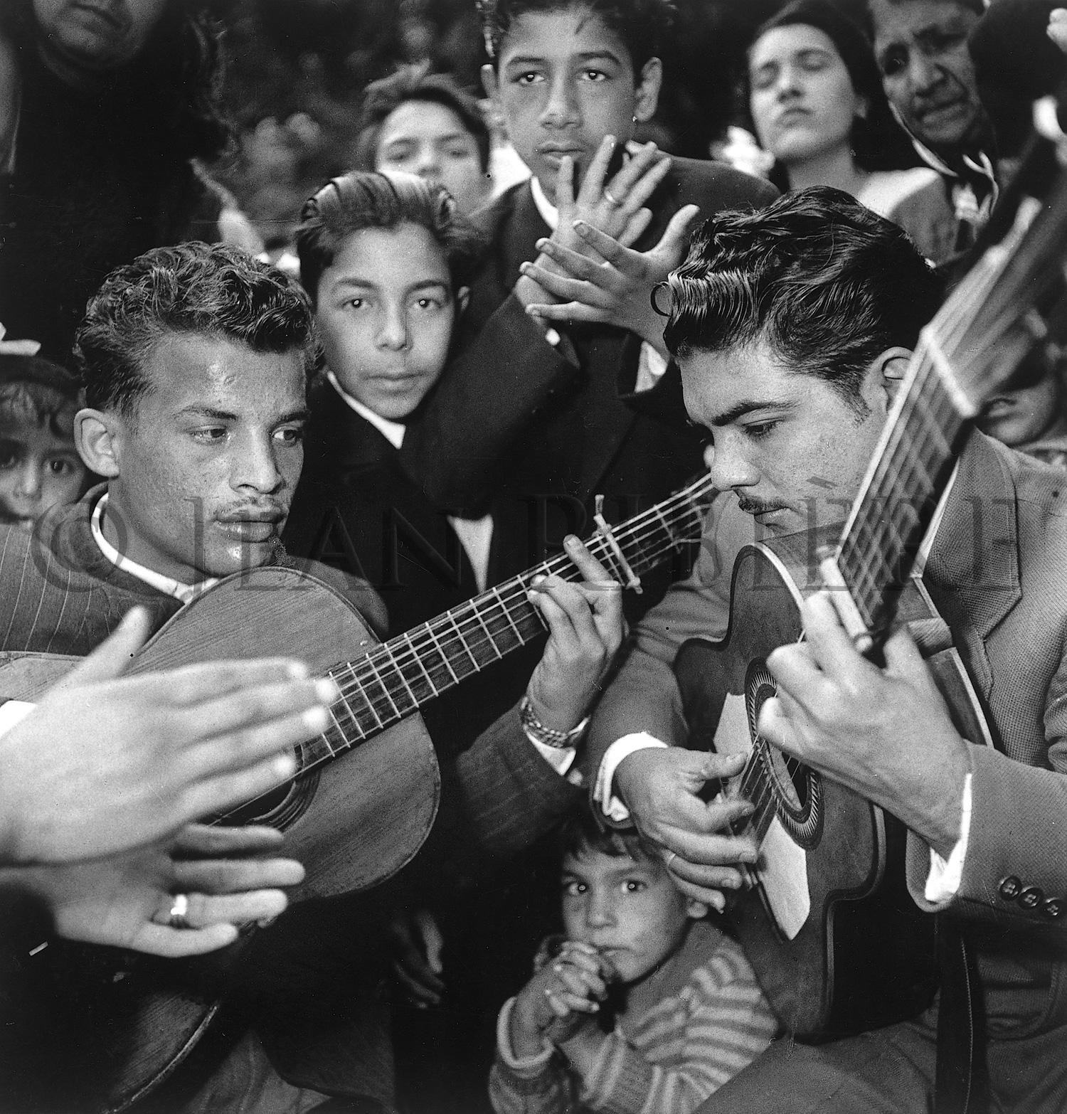 Les Gitans et la musique