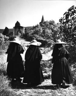 Les trois soeurs sur le chemin