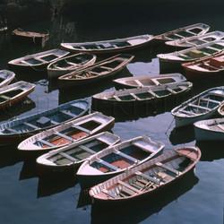 Barques multicolores