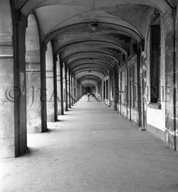 Place des Vosges : les arcades