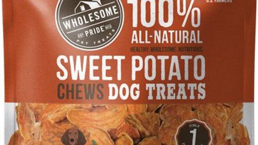 Wholesome Pride Pet Treats Sweet Potato Chews Dog Treat