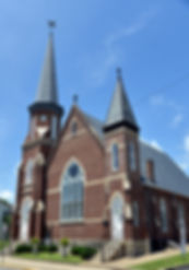 Front facade of First Presbyterian Mt. Sterling Ky.