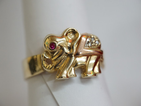 Tri-Color Elephant Ring