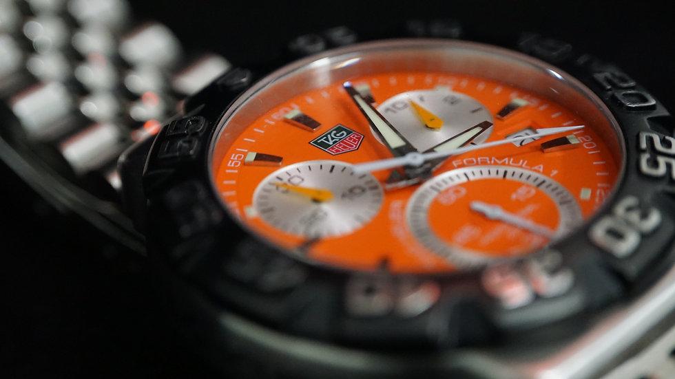 Tag Heuer Formula 1 Orange