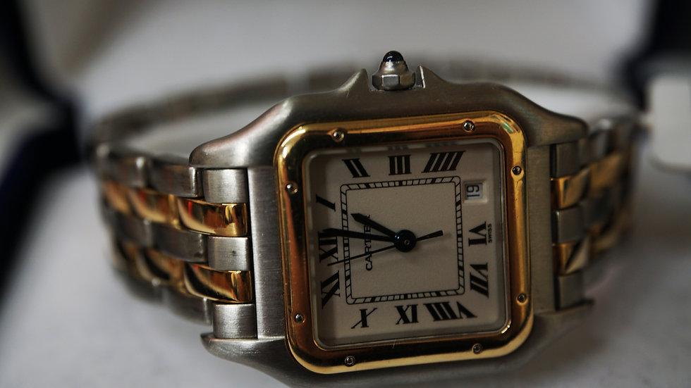 22K Cartier watch
