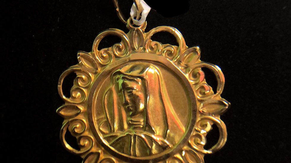 18k Religious Medal