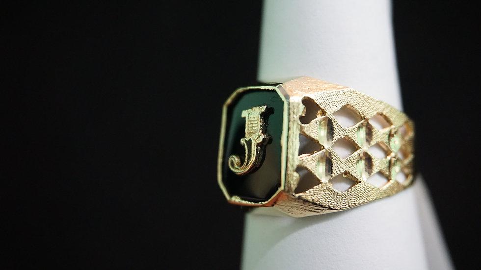 14k J Ring
