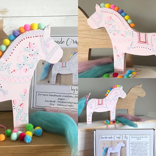 Dhala Horse Craft Kit by In-house Designs