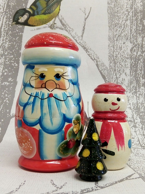 Santa Claus Russian Matryoshka doll