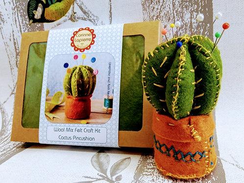 Cactus Pincushion, Corinne Lapierre Felt Kit
