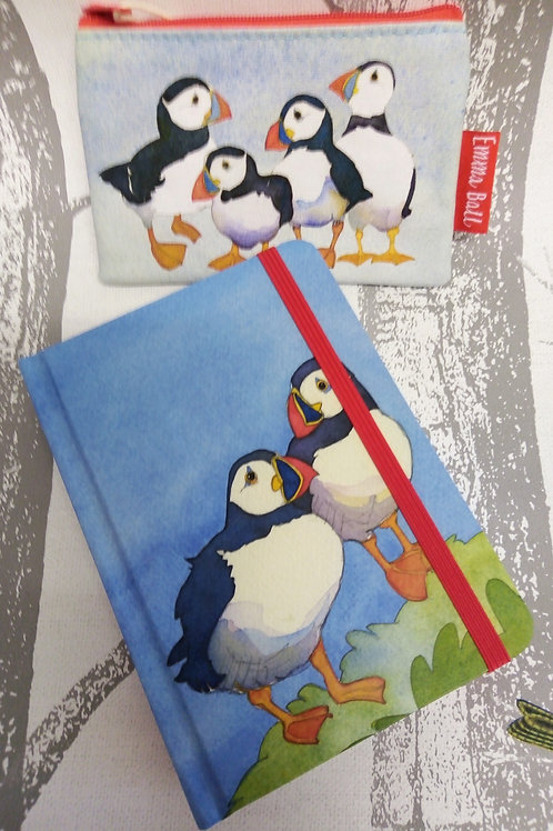 Puffin Purse and Puffin Notebook Emma Ball Set