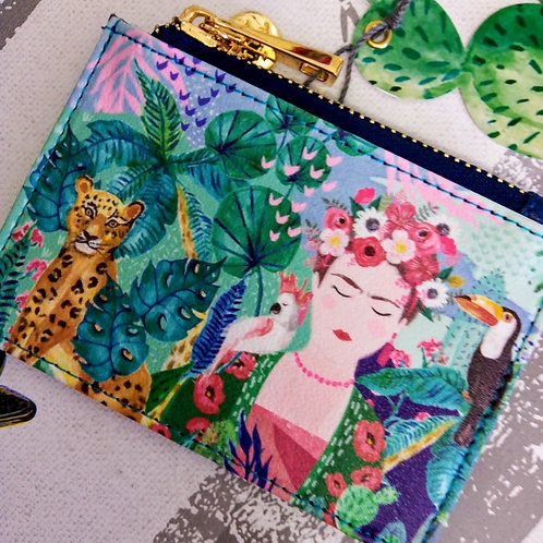 Frida Khalo Purse with Card wallet, House of Disaster