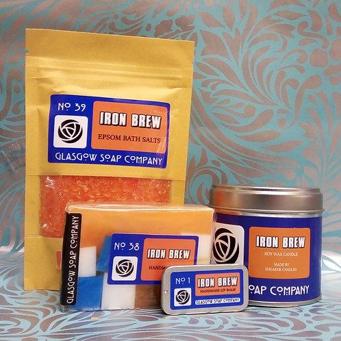Iron Brew Gift Set,  Glasgow Soap Company,