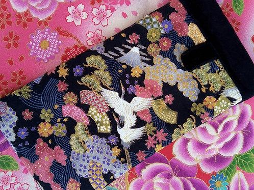 Glasses or Mobile Case, Handmade, Japanese fabric