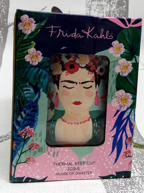 Frida Khalo Thermal Mug in a Gift Box, House of Disaster