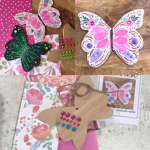 Butterfly 🦋 Craft Kit by In-house Designs