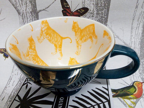 Tiger Large Tea Cup in a Gift Box, House of Disaster