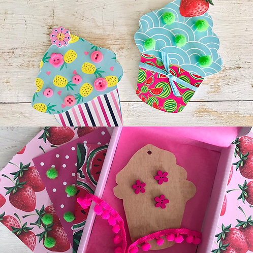 Cupcake 🧁 Craft Kit by In-house Designs