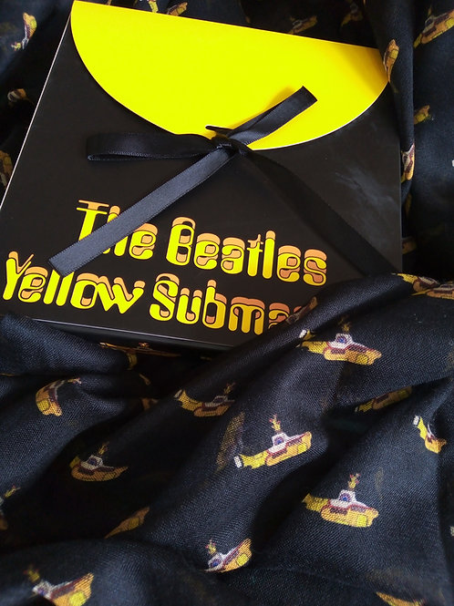 Yellow Submarine Scarf, The Beatles, House of Disaster