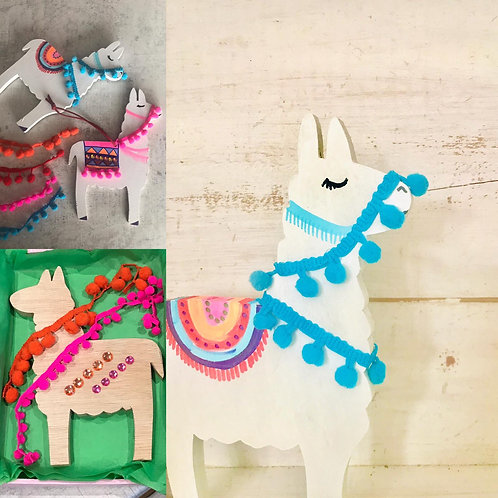 Llama Craft Kit by In-house Designs