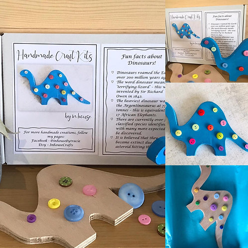 Dinosaur Craft Kit by In-house Designs