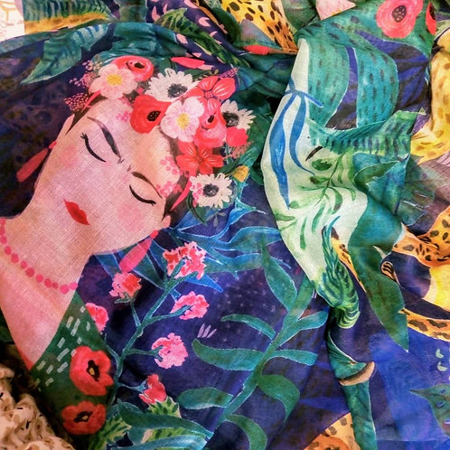 Frida Khalo Scarf, House of Disaster