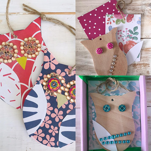 Owl Craft Kit by In-house Designs